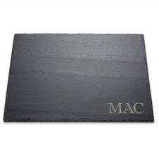 Slate Cheese Monogrammed Serving Tray