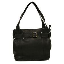 Fashion Avenue Large Belted Tote