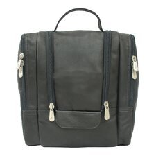 <strong>Piel Leather</strong> Hanging Toiletry Kit