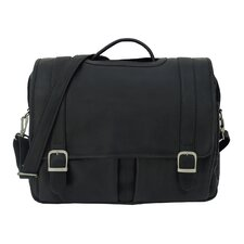 <strong>Piel Leather</strong> Ultimate Organizational Portfolio Briefcase
