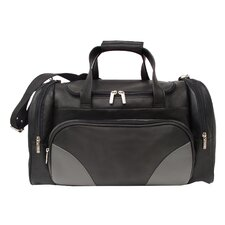 "18.5"" Leather Professional Carry-On Duffel"