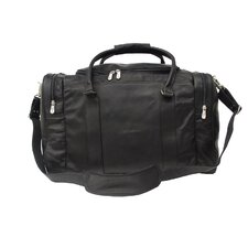 "<strong>Piel Leather</strong> 20"" Leather Classic Carry-On Duffel"