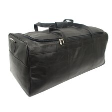 "Traveler's Select 25"" Leather Travel Duffel"