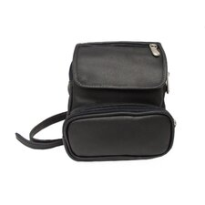 <strong>Piel Leather</strong> Adventurer Travel Waist Bag Organizer