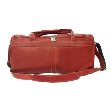 "Leather 18"" Travel Duffel"