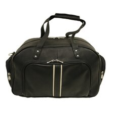 "Traveler 10.5"" Mini Leather Travel Duffel with Pockets"