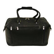 "Traveler 19.5"" Leather Urban Weekender Duffel"