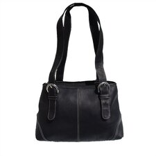 <strong>Piel Leather</strong> Medium Buckle Tote