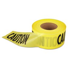 "3"" X 1000 Ft Caution Barricade Tape"