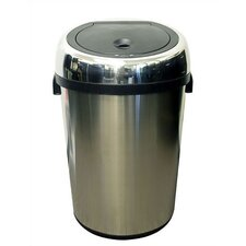 23-Gal. Stainless Steel Touchless Trashcan