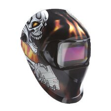 Black ,Orange And Silver Aces High Design Welding Helmet 100 With Variable Shade 40402 Auto-Darkening Lens