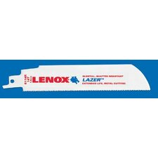 "6"" X 1"" X .042"" Lenox® Lazer™ Reciprocating Saw Blade With 14 Teeth Per Inch"