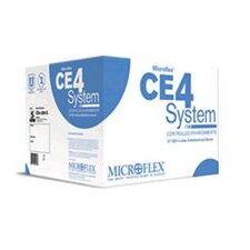 "8 Natural 12"" CE4 System 5.9 mil Latex Hand Specific Sterile Powder-Free Disposable Gloves With Micro-textured Finish And Extended Cuffs (10 Pair Per Bag)"