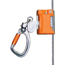 Automatic Pass-Through Cable Sleeve With Integral Swivel And Carabiner