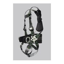 Revolution Welder's Harness With DualTech Webbing, Removable Belt, Side D-Rings And Pad And Quick Connect Buckle Legs