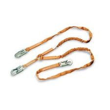 1 Tie-Off 6' Tubular Shock Absorbing Lanyard