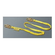 4' Shock Absorbing Lanyard With Locking Snap Hooks