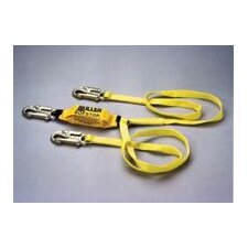 Two-Legged Web Lanyard With SofStop® Shock Absorber And Locking Snap Hooks