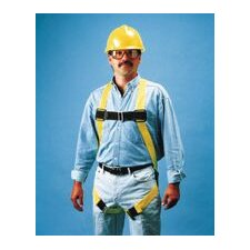 VersaLite Non-Stretch Harness With Matting Leg Straps, Back D-Ring, Lanyard Ring, Belt Loops And Fall Indicator