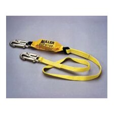 Web Lanyard With 2 Locking Snap Hooks & An Integral Sofstop™ Shock Absorber