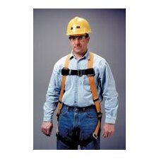 <strong>Miller Fall Protection</strong> Size Titan T-Flex™ Stretchable Polyester Full Body Harness With Back D-Ring, Matting Should Strap, Chest And Leg Strap Buckles, And Sub-Pelvic Strap