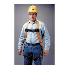 Titan™ Full Body Harness With Sliding Back D-Ring, Grommeted Leg Strap, Friction Buckle Shoulder And Sub-Pelvic Strap