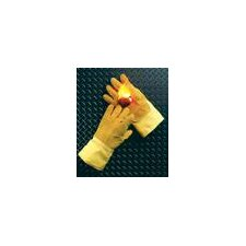 "Norbest ™ 845™ 45 Ounce PBI® And Para-aramid synthetic fiber® 10 Ounce Lined Heat Resistant Gloves With 14"" Gauntlet Cuff And Wool Palm Lining"
