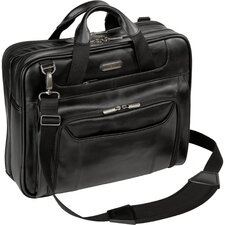 Corporate Traveler Leather Laptop Briefcase