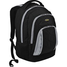 Brilliance II Laptop Backpack in Black/Gray