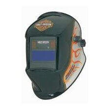 Flames Premium Style Series Welding Helmet With 40434 Variable Shade Auto-Darkening Lens
