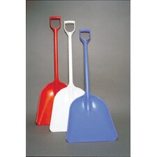 "<strong>Perfex</strong> White Polyethylene One-Piece Sanitary Shovel With 14"" X 17"" Blade (6 Per Case)"