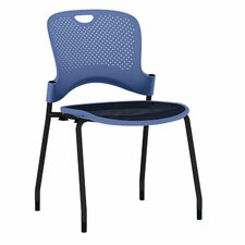 Caper Stacking Chair With FLEXNET™  Seat and No Arms