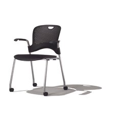<strong>Herman Miller ®</strong> Caper Stacking Chair With Arms