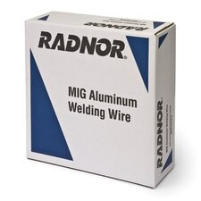 ".030"" ER5356 Radnor® 5356 Aluminum MIG Welding Wire 16 12"" Spool (Set of 16)"