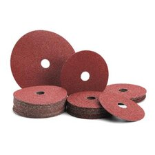 "1/2"" X 7/8"" 36 Grit Ceramic Fiber Disc"