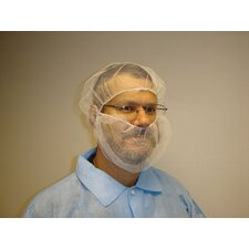 White Polyester Hairnet (100 Per Bag)