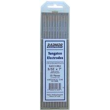 "1/16"" X 7"" Ground Finish Lanthana Tungsten Electrode (10 Per Package)"