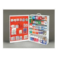 100 Person Durable Metal Industrial First Aid Cabinet