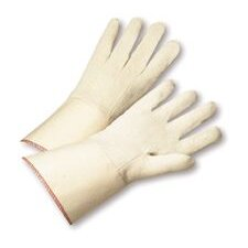 "12 Ounce Gauntlet Canvas Glove With Starched 4"" Gauntlet Cuff"