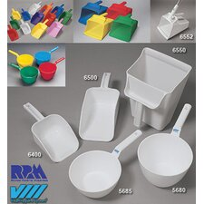 Ounce White Polypropylene Small Hand Scoop (12 Per Case)