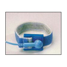 Systems Light Weight Adjustable Elastic Wristat Band With 6' Coiled Cord