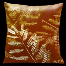 Impressions Burnt Sienna Square Micro-Suede Pillow
