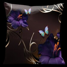 Chocolate Royale Square Satin Pillow