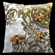 Como Gardens Square Satin Pillow