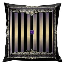 Rulers of Time Stripes Pillow