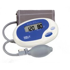 Manual Inflate Blood Pressure and Pulse Monitor