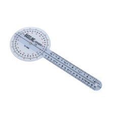 360 Degree Clear Plastic Goniometer