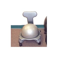 <strong>Cando</strong> Plastic Mobile Ball Chair