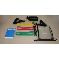 <strong>Cando</strong> Adjustable Moderate Exercise Band Kit (Set of 2)