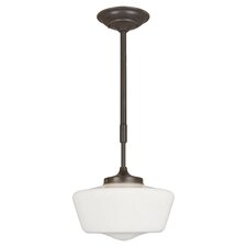 Luray 1 Light Schoolhouse Pendant